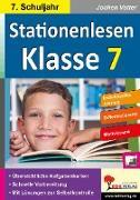 Cover-Bild zu Stationenlesen Klasse 7 (eBook) von Vatter, Jochen