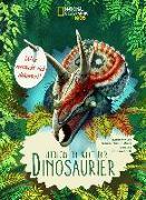 Cover-Bild zu Was versteckt sich dahinter? Entdecke die Welt der Dinosaurier von Banfi, Cristina