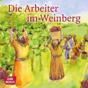 Cover-Bild zu Die Arbeiter im Weinberg. Mini-Bilderbuch von Hartmann, Frank