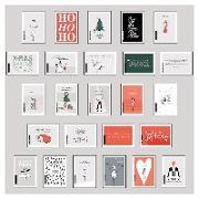 Cover-Bild zu 25 handgemachte Weihnachtskarten Teil 1 von Wirth, Lisa