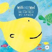 Cover-Bild zu Willi der Wal und seine Suche nach dem Glück   Eine wunderbare Geschichte über Willi den Wal und seine Freunde den Meerestieren   Bilderbuch für Kinder ab 2 Jahre   Kinderbuch, Kindergeschichte von Wirth, Lisa