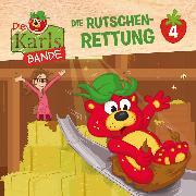 Cover-Bild zu Die Karls-Bande - Folge 4: Die Rutschen-Rettung (Audio Download) von Disselhoff, Johannes
