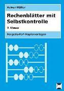 Cover-Bild zu Rechenblätter mit Selbstkontrolle - 9. Klasse von Müller, Heiner