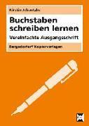 Cover-Bild zu Buchstaben schreiben lernen - VA von Jebautzke, Kirstin