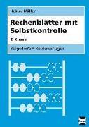 Cover-Bild zu Rechenblätter mit Selbstkontrolle - 8. Klasse von Müller, Heiner