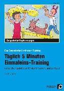 Cover-Bild zu Täglich 5 Minuten Einmaleins-Training von Müller, Ellen