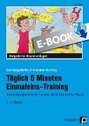Cover-Bild zu Täglich 5 Minuten Einmaleins-Training (eBook) von Müller, Ellen