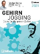 Cover-Bild zu Stefan Heine Gehirnjogging 2021 Tagesabreißkalender - 11,8x15,9 - Rätselkalender - Knobelkalender - Tischkalender