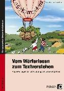 Cover-Bild zu Vom Wörterlesen zum Textverstehen von Manthey, Heike