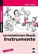 Cover-Bild zu Lernstationen Musik: Instrumente von Weber, Nicole