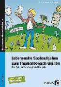 Cover-Bild zu Lebensnahe Sachaufgaben zum Themenbereich Größen von Barkhausen, Christina