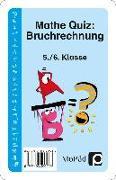 Cover-Bild zu Mathe-Quiz: Bruchrechnung von Eggert, Jens