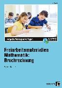 Cover-Bild zu Freiarbeitsmaterialien Mathematik: Bruchrechnung von Eggert, Jens