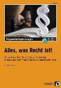 Cover-Bild zu Alles, was Recht ist! von Eggert, Jens