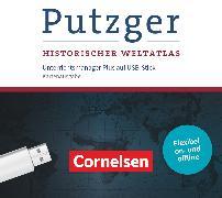 Cover-Bild zu Putzger - Historischer Weltatlas, (105. Auflage), Unterrichtsmanager Plus auf USB-Stick für die Kartenausgabe, Inkl. E-Book als Zugabe und Begleitmaterialien
