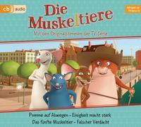 Cover-Bild zu Die Muskeltiere - Hörspiel zur TV-Serie 01 von Krause, Ute