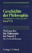 Cover-Bild zu Röd, Wolfgang: Bd. 8: Geschichte der Philosophie Bd. 8: Die Philosophie der Neuzeit 2: Von Newton bis Rousseau - Geschichte der Philosophie