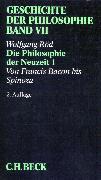 Cover-Bild zu Röd, Wolfgang: Geschichte der Philosophie Bd. 7: Die Philosophie der Neuzeit 1: Von Francis Bacon bis Spinoza (eBook)