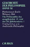Cover-Bild zu Basile, Pierfrancesco: Bd. 11: Geschichte der Philosophie Bd. 11: Die Philosophie des ausgehenden 19. und des 20. Jahrhunderts 1: Pragmatismus und analytische Philosophie - Geschichte der Philosophie