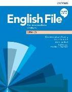 Cover-Bild zu English File: Pre-intermediate: Workbook with Key von Latham-Koenig, Christina (Weiterhin)