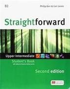 Cover-Bild zu Straightforward 2nd Edition Upper Intermediate + eBook Student's Pack von Kerr, Philip