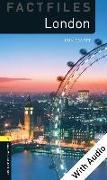 Cover-Bild zu London - With Audio Level 1 Factfiles Oxford Bookworms Library (eBook) von Escott, John