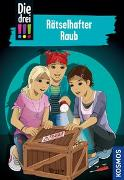 Cover-Bild zu Die drei !!!, 86, Rätselhafter Raub