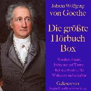 Cover-Bild zu Johann Wolfgang von Goethe: Die größte Hörbuch Box (Audio Download) von Goethe, Johann Wolfgang von