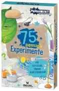 Cover-Bild zu PhänoMINT 75 supercoole Experimente mit Licht & Luft, Wasser, Kraft & Elektrizität