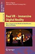 Cover-Bild zu Magnor, Marcus (Hrsg.): Real VR - Immersive Digital Reality (eBook)