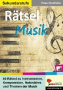 Cover-Bild zu Rätsel Musik (eBook) von Pichlhöfer, Petra