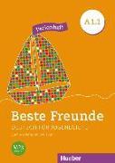 Cover-Bild zu Beste Freunde A1/1. Deutsch als Fremdsprache. Ferienheft von Orozco Coronil, Daniel