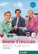 Cover-Bild zu Beste Freunde A2/2. Arbeitsbuch mit Audio-CD von Georgiakaki, Manuela