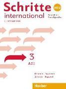 Cover-Bild zu Schritte international Neu 3 von Verlag, Hueber (Hrsg.)