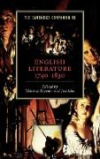 Cover-Bild zu Keymer, Thomas (Hrsg.): The Cambridge Companion to English Literature, 1740 1830