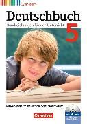 Cover-Bild zu Brenner, Gerd: Deutschbuch 5. Schuljahr. Allgemeine Ausgabe. Handreichungen für den Unterricht, Kopiervorlagen und CD-ROM