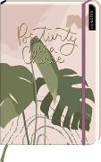 Cover-Bild zu myNOTES Notizbuch A5: Positivity is a choice - notebook medium, dotted - für Träume, Pläne und Ideen / ideal als Bullet Journal oder Tagebuch