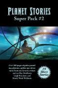 Cover-Bild zu Planet Stories Super Pack #2 (eBook) von Ray Bradbury, Brackett S. Bond Brackett