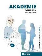 Cover-Bild zu Akademie Deutsch A2+. Band 2 - Intesivlehrwerk mit Audios online von Schmohl, Sabrina