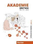 Cover-Bild zu Akademie Deutsch B2+. Band 04, Intensivlehrwerk mit Audios online von Schmohl, Sabrina