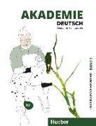 Cover-Bild zu Akademie Deutsch A1+. Band 1 - Intensivlehrwerk mit Audios online von Schmohl, Sabrina