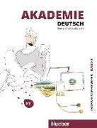 Cover-Bild zu Akademie Deutsch B1+. Band 1- Intensivlehrwerk mit Audios online von Schmohl, Sabrina