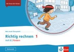 Cover-Bild zu Mein Anoki-Übungsheft. Richtig Rechnen 1. Heft B   Fördern. Übungsheft Klasse 1