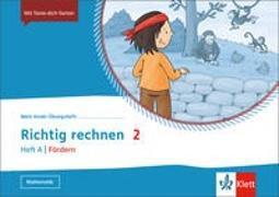 Cover-Bild zu Mein Anoki-Übungsheft. Richtig Rechnen 2. Heft A   Fördern. Übungsheft Klasse 2