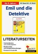 Cover-Bild zu Emil und die Detektive / Literaturseiten