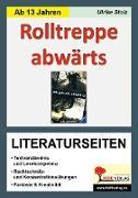 Cover-Bild zu Rolltreppe abwärts / Literaturseiten
