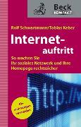 Cover-Bild zu Schwartmann, Rolf: Internetauftritt (eBook)