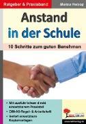 Cover-Bild zu Anstand in der Schule. 10 Schritte zum guten Benehmen von Herzog, Marisa