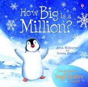 Cover-Bild zu How Big is a Million? von Milbourne, Anna