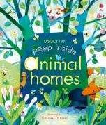 Cover-Bild zu Peep Inside. Animal Homes von Milbourne, Anna